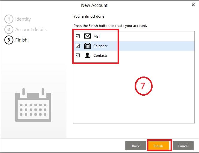 Đồng bộ eM Client với icloud