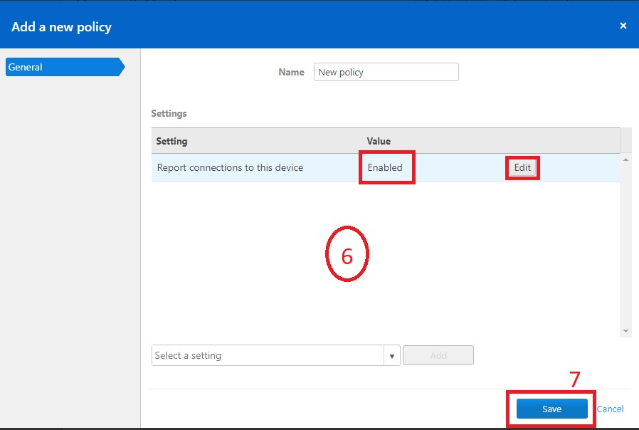 Tạo Policy trong TeamViewer