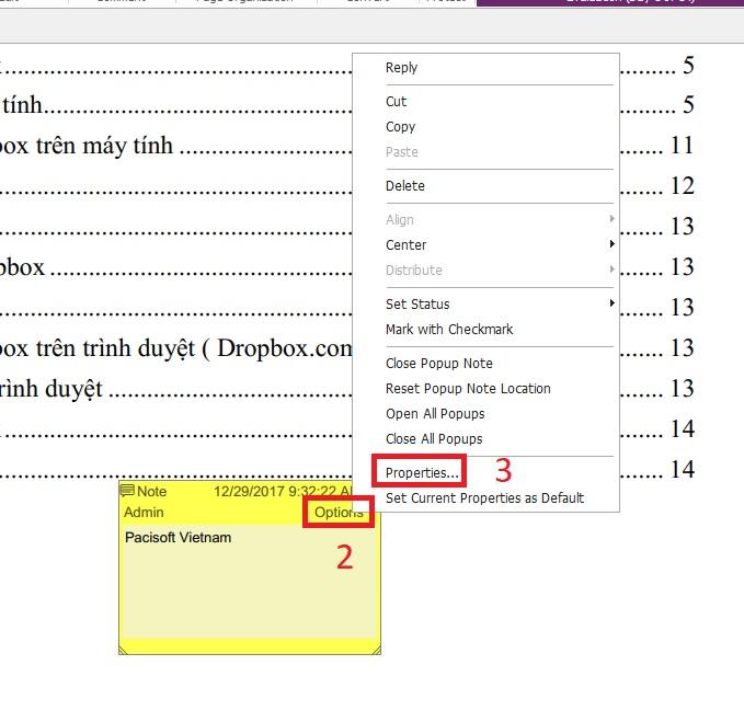 Hướng dẫn ghi chú trên PDF bằng Foxit Reader
