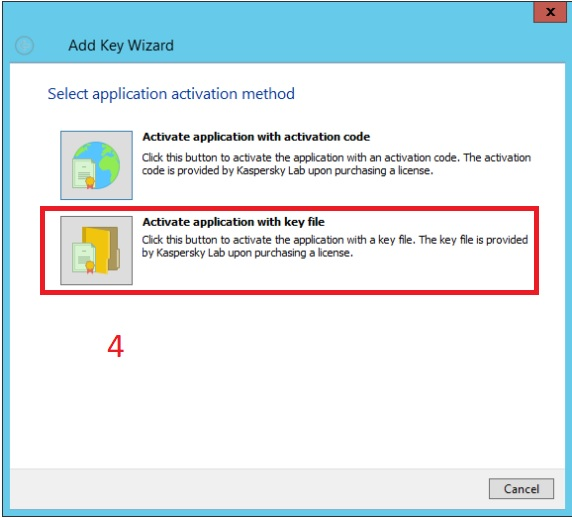 Hướng dẫn add key cho Client trong Kaspersky Security Center | help