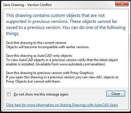 Tổng hợp một số lỗi thường gặp trong AutoCAD